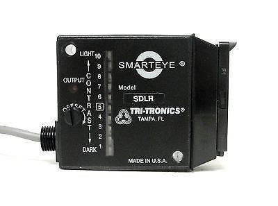 Tri-Tronics Photoelectric Sensor, SDLRF1, Smarteye Digital Red - Industrial Sensors & Controls