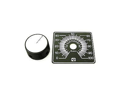 KB Electronics KB-9832 (LARGE) Knob and Dial Kit for AC and DC Motor Controls - Industrial Sensors & Controls