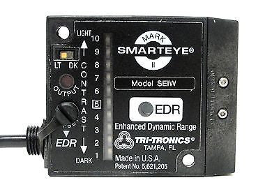 Tri-Tronics Fiber Optic Sensor, SEIWF1, Mark II Smarteye w/ special connector - Industrial Sensors & Controls