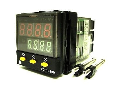 Future Design Controls FDC-9300-412000 Temp. Control Relay Output - Industrial Sensors & Controls