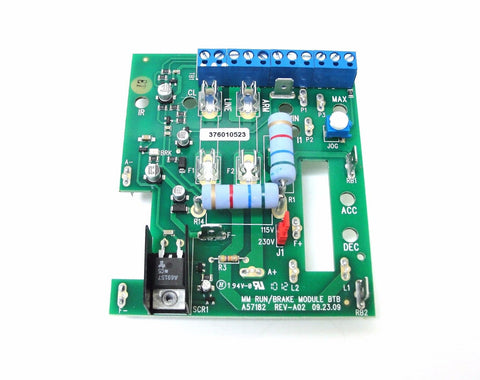 KB Electronics 9952 Run-Brake Module for KBMM (Includes DB Resistor) - Industrial Sensors & Controls