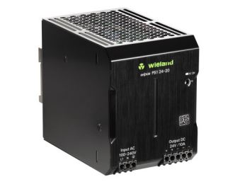 Wieland 81.000.6550.0 Switching Power Supply, 24 VDC, 20A