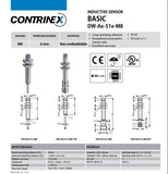 Contrinex DW-AS-513-M8 Proximity Sensor