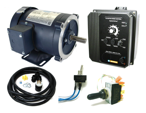 AC Drive/Motor 2 HP 3600 RPM Combo Kit - Industrial Sensors & Controls