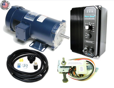 DC Drive/Motor 1 HP 1800 RPM Combo Kit - Industrial Sensors & Controls