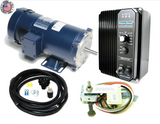 KB Electronics KBPC-240D DC drive 9338 w/ Leeson 1hp 1800rpm dc motor MADE IN USA - Industrial Sensors & Controls