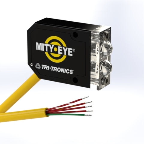 Tri-Tronics Fiber Optic Sensor, MDICF4, Mity-Eye - Industrial Sensors & Controls