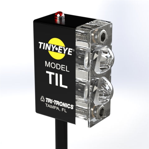 Tri-Tronics Fiber Optic Sensor, STIT4, Tiny Eye - Industrial Sensors & Controls