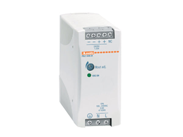 Lovato PSL106024 Switching Power Supply, 24VDC, Single Phase, 60W - Industrial Sensors & Controls