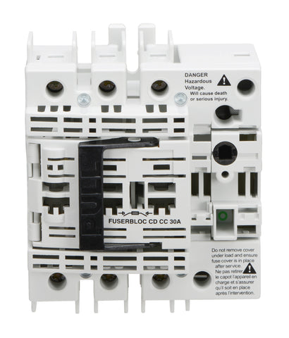 Socomec Disconnect Switch, 37103003, FUSERBLOC, 30A, 3P - Industrial Sensors & Controls