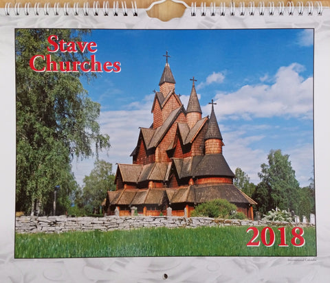Calendar: Stave Churches 2018
