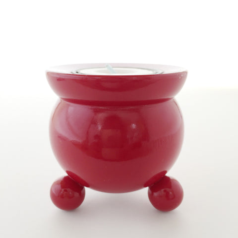 Red Barrel Warming Candle Holder