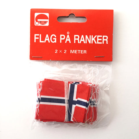 Norway Flag Garland