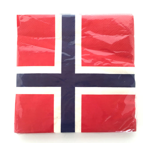 Norway Flag Napkins