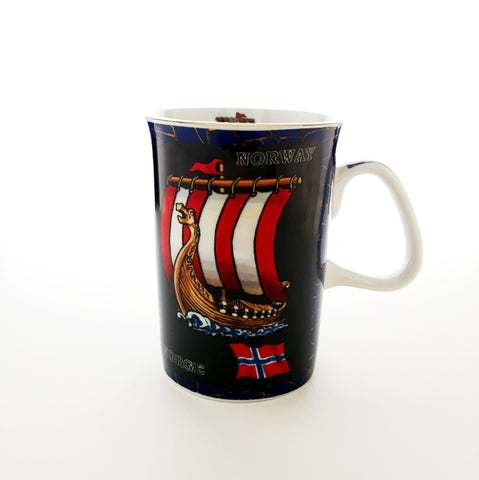 Norway Viking Ship Mug