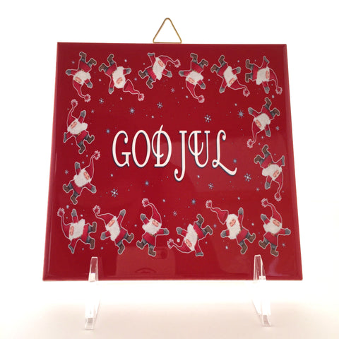 """God Jul"" Tile"