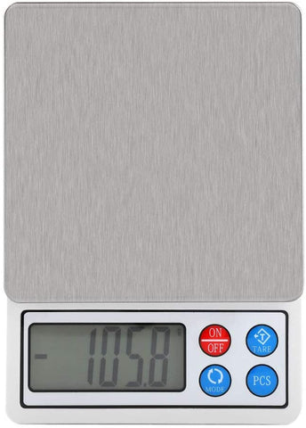 Precision Electronic Digital Scales - 2kg/0.1g - Surfy's Home Curing Supplies