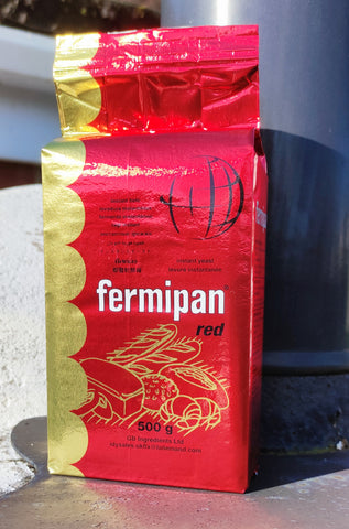 Fermipan Red Instant Dried Bakers Yeast - Surfy's Home Curing Supplies