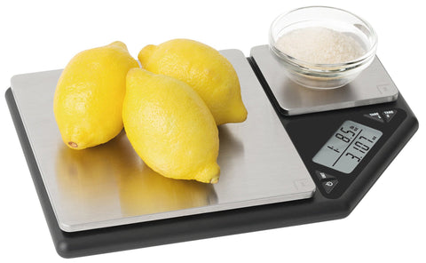 Dual Platform Electronic Digital Scales - 5kg/1g & 500g/0.001g - Surfy's Home Curing Supplies