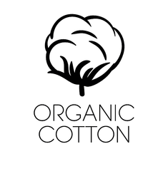 Organic cotton symbol for online ethical fashion