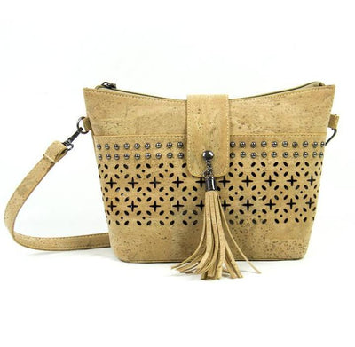 Boho Style Vegan Leather Crossbody - Issara Fairtrade