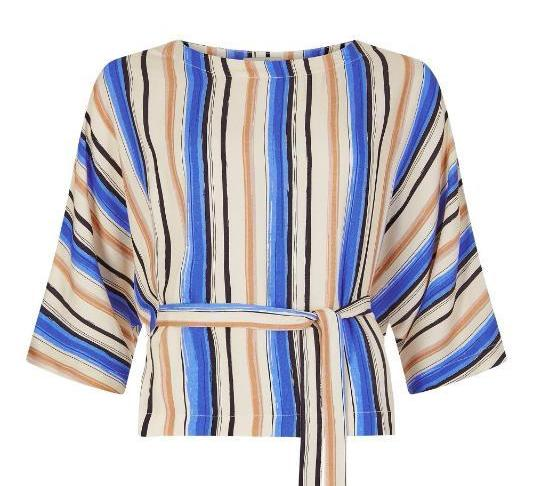 Alisha Striped Top - Issara Fairtrade