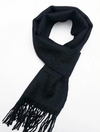 Baby Alpaca Scarf - Black - Issara Fairtrade