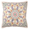 Eco Cushion Embroidered Star Pattern Set 2 - Issara Fairtrade