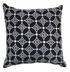 Black and White Eco Cushion - Issara Fairtrade