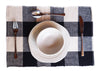Place Mat Set of 4 - Checked - Issara Fairtrade