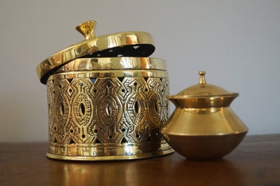 Brass Nakshi Design Box - Issara Fairtrade