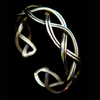 Silver Twist Bracelet Cuff - Issara Fairtrade