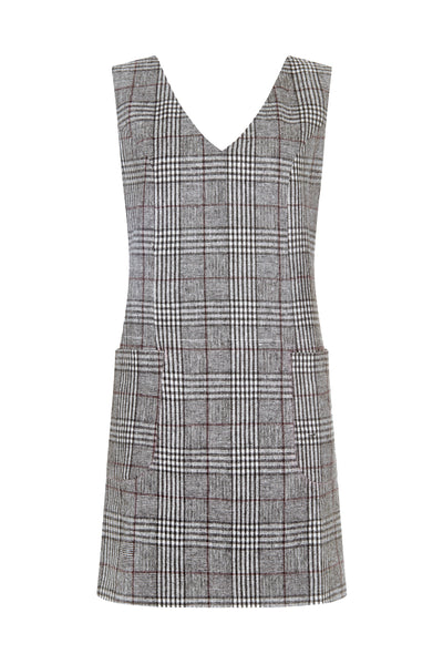 Dory Check Tweed Dress - Issara Fairtrade