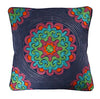 Fair Trade Eco Cushion - Aari Embroidery - Issara Fairtrade