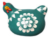 Colourful Handpainted  Chicken - Green - Issara Fairtrade