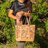 River Stones Vegan Cork Tote - Issara Fairtrade