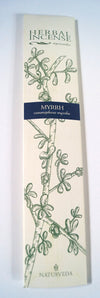 Herbal Ayurvedic Incense Myrrh - Issara Fairtrade