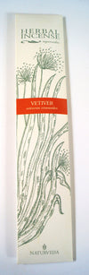 Herbal Ayurvedic Incense Vetiver - Issara Fairtrade