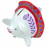 Pink Piggy Money Box - Issara Fairtrade