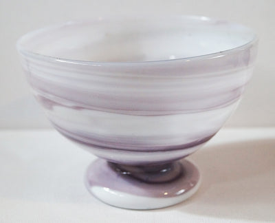 Handmade Recycled Opaline Small Bowl - Issara Fairtrade