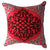 Red Embroidered Cushion