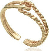 Modern Rope Ring - Issara Fairtrade
