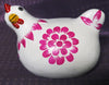 Colourful Chooks White - Issara Fairtrade