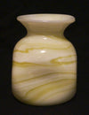 Handmade Recycled Opaline Glass Vase - Issara Fairtrade