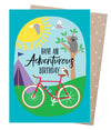 Adventurous Birthday Card - Issara Fairtrade