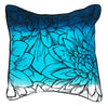 Blue Flower Eco Cushion - Issara Fairtrade