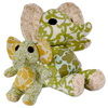 Seated Green Elephant - Issara Fairtrade