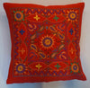 Nakshi Hand Embroidered Eco Cushion - Issara Fairtrade
