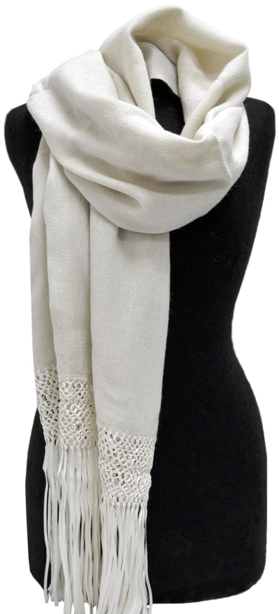 Alpaca and Silk Shawl - Issara Fairtrade