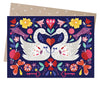 Swan Embrace Card - Issara Fairtrade